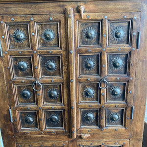 Old Handmade Indian Cabinet