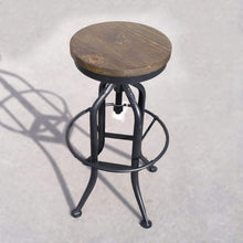 Load image into Gallery viewer, Seating Stonemill Adjustable Height Bar Stool - Farmhouse Collection