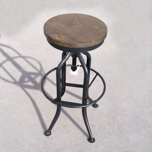 Seating Stonemill Adjustable Height Bar Stool - Farmhouse Collection