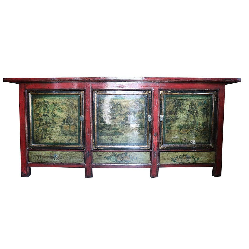 Sideboards/Consoles Antique Style Three Door Sideboard