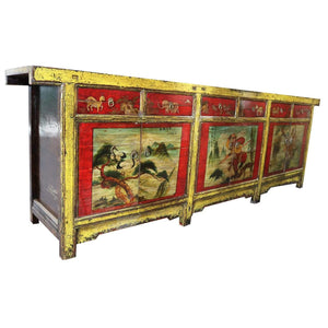 Sideboards/Consoles Asian Style Sideboard with 6 Drawers - XL