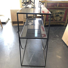 Load image into Gallery viewer, Sideboards/Consoles Black Glasstop Console
