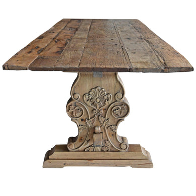 Tables Chateau Solid Teak Dining Table  - 2.4m