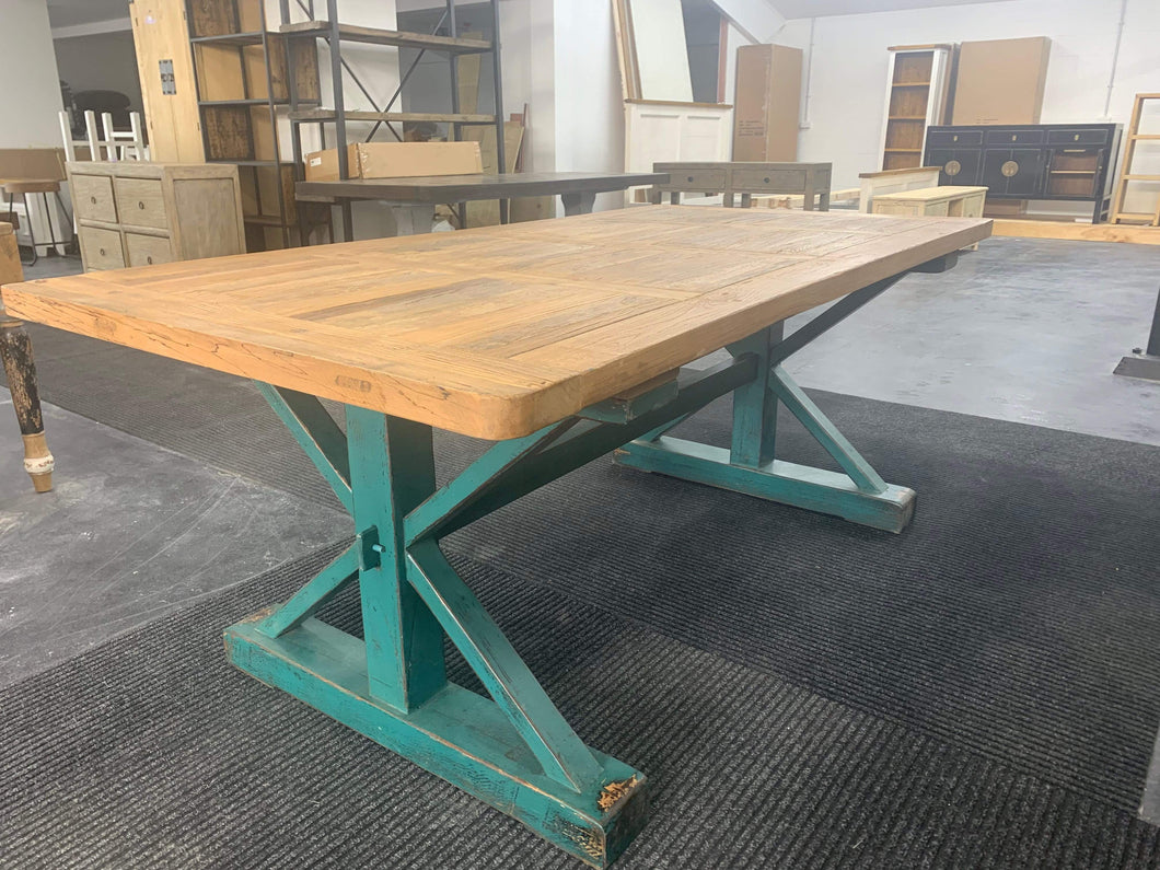 Tables Country Style Dining Table 2.0m
