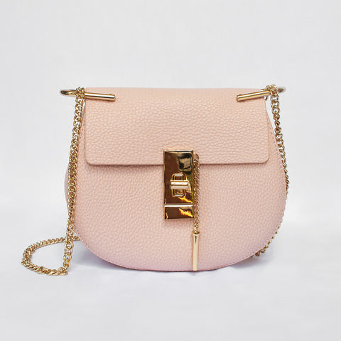 Sophia in Pink - Leather bag