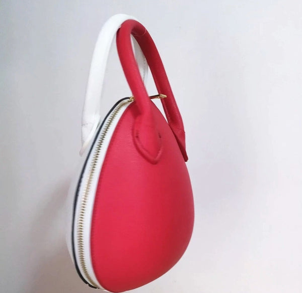 Matilda in Red and White - Statement clutch
