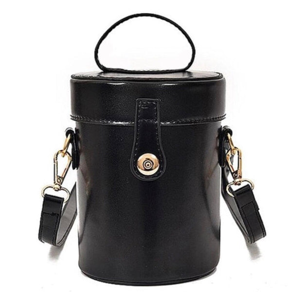 Faith in Black - Cylinder bag