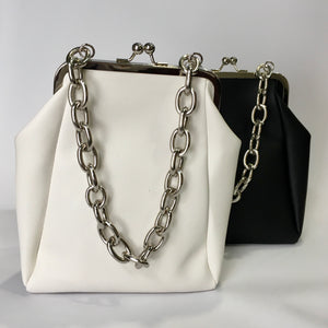 Mercedes - Black or White purse bag
