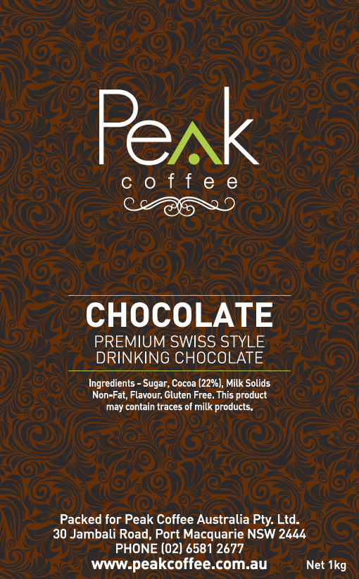 peak-coffee-australia - Peak Swiss Chocolate - 1kg