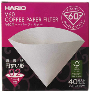 peak-coffee-australia - Hario Papers V60 2 Cup - 40pk