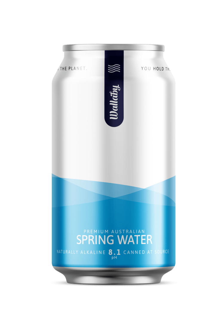 Wallaby Water - 375ml x 24 Can | Peak Coffee Australia