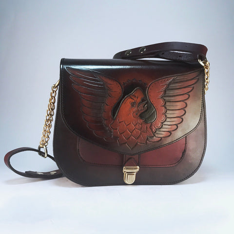 Eagle Saddle Bag