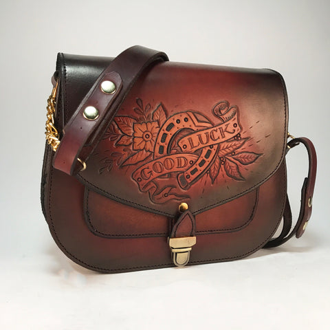 """Good Luck"" Saddlebag"