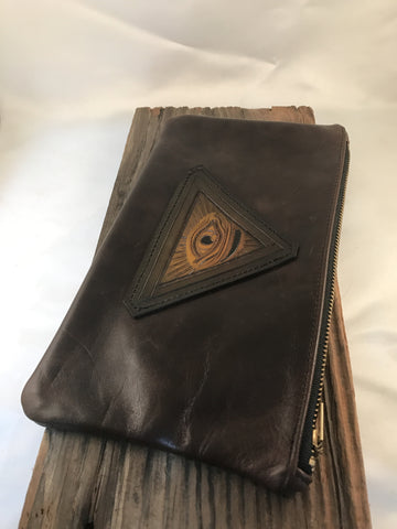 All Seeing Eye 6x10 Zipper Pouch