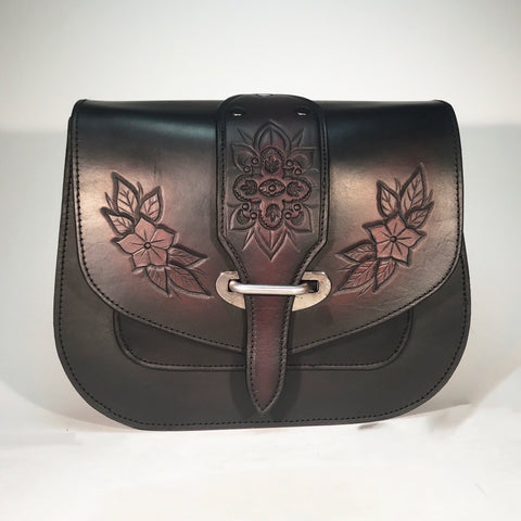 Floral Saddlebag
