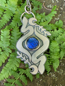 Return to the Garden Pendant