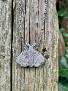 Moth Necklace 1