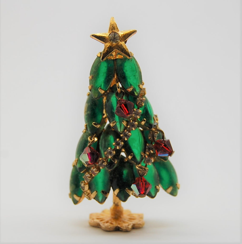 Juliana D&E Green Navette Standing Christmas Tree exclusive to Harrods