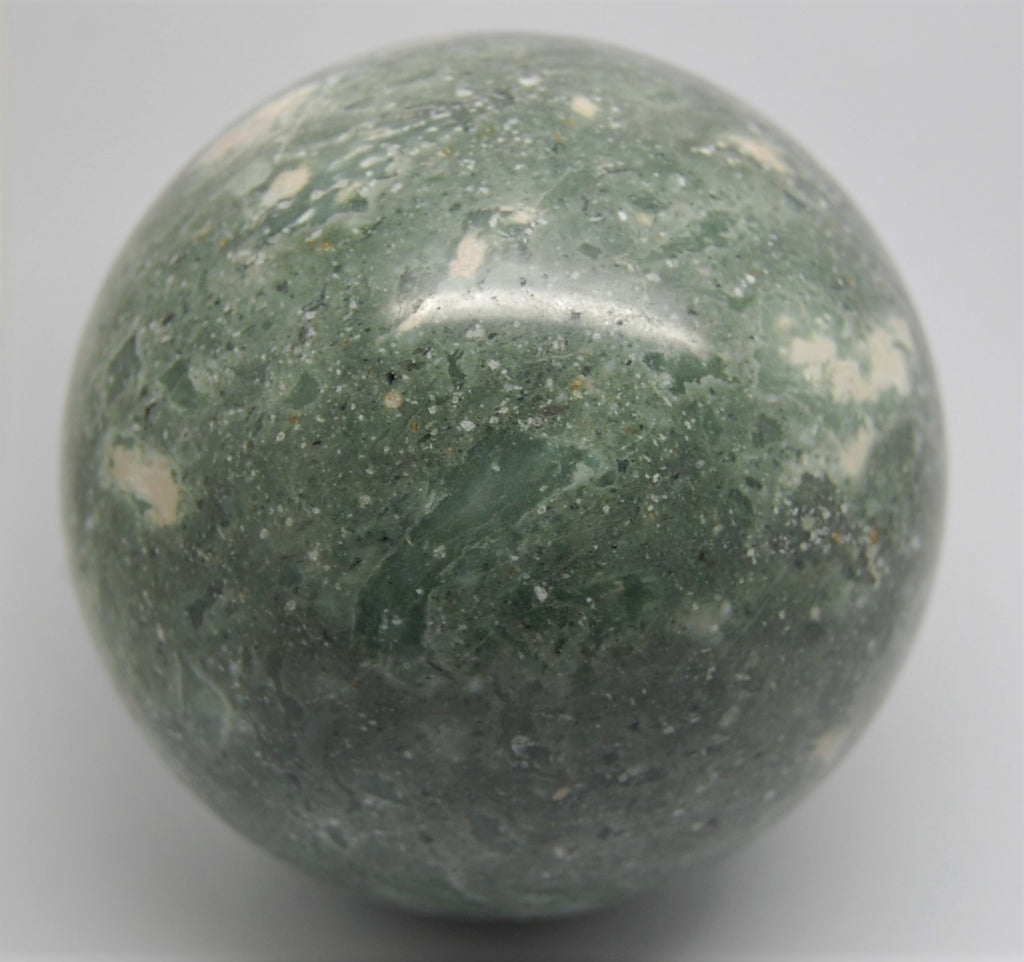 Sphere - Serpentine Quartz from Pacific Northwest - 3 Inches