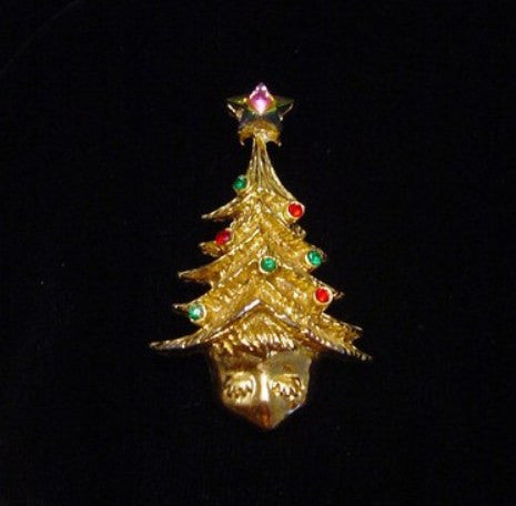 Tancer II Guardian Angel Tree - Mink Road Vintage Jewelry