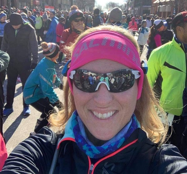 Kathy Downes Chilly Half 2020