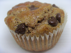 Keto Chocolate Chip Muffin