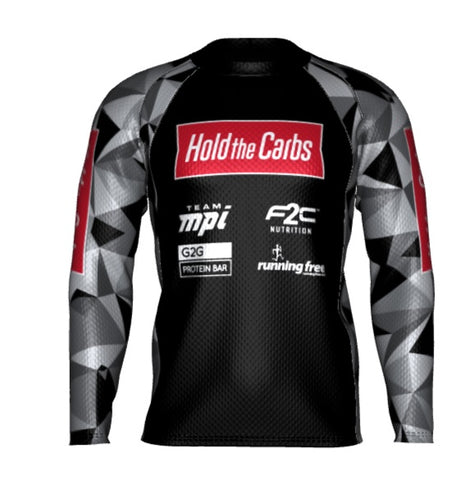 HoldTheCarbs Long-Sleeve Men's Running Shirt