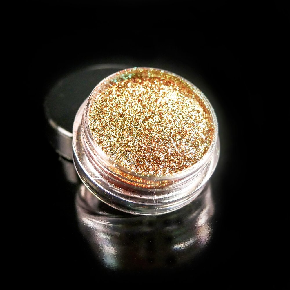 Shimmer pigment- Star Dust (gold, green, red)