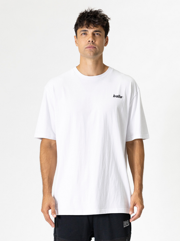 Luminal Oversized Tee | White