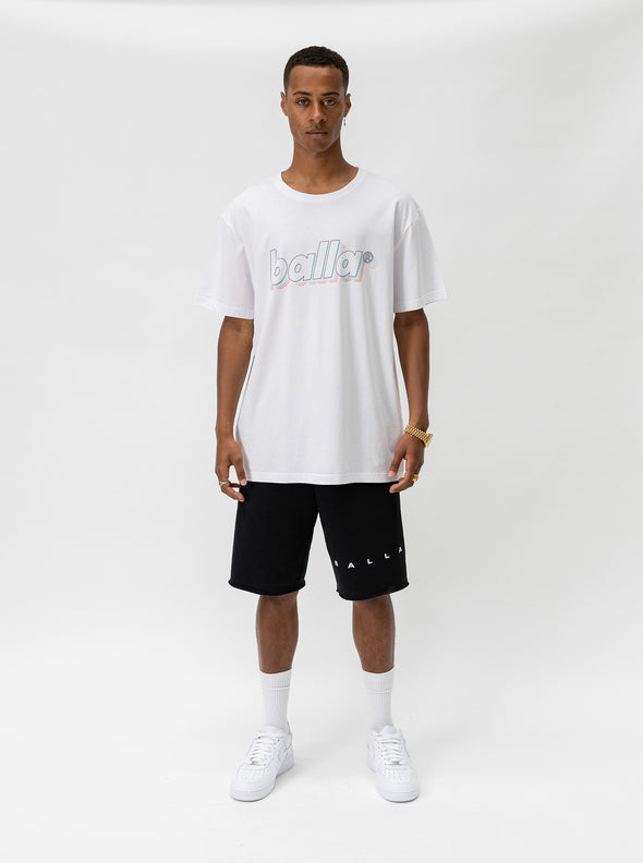 Ombre Standard Tee | White