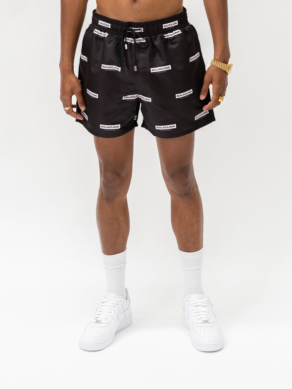 Balaclava Beach Short | Jet Black