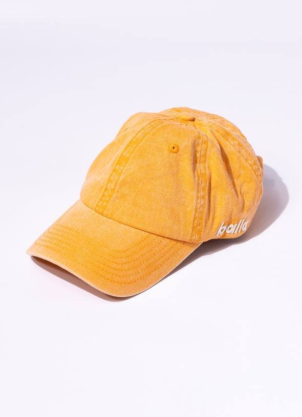 Stonewash Unstructured Cap | Orange