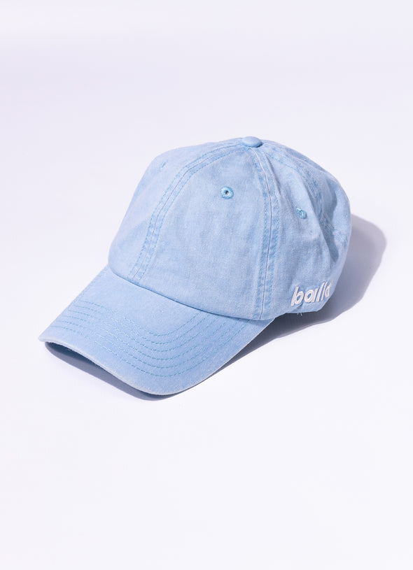 Stonewash Unstructured Cap | Blue