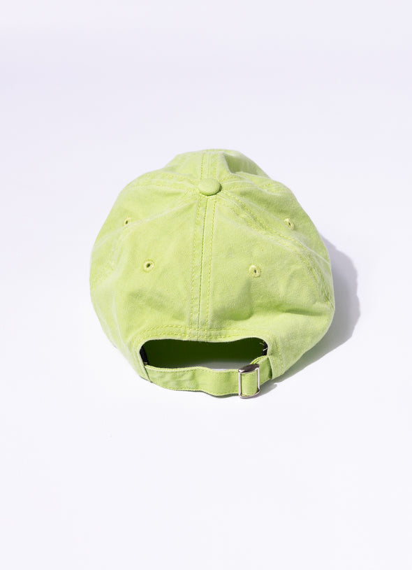 Stonewash Unstructured Cap | Green