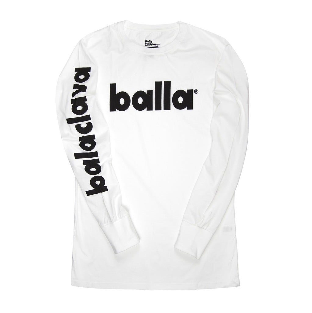 Balaclava Natives Long White Sleeve