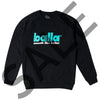 Smooth Like Butter Black Crewneck