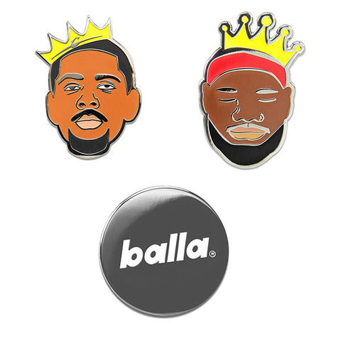 Cavs Balla Pin Set