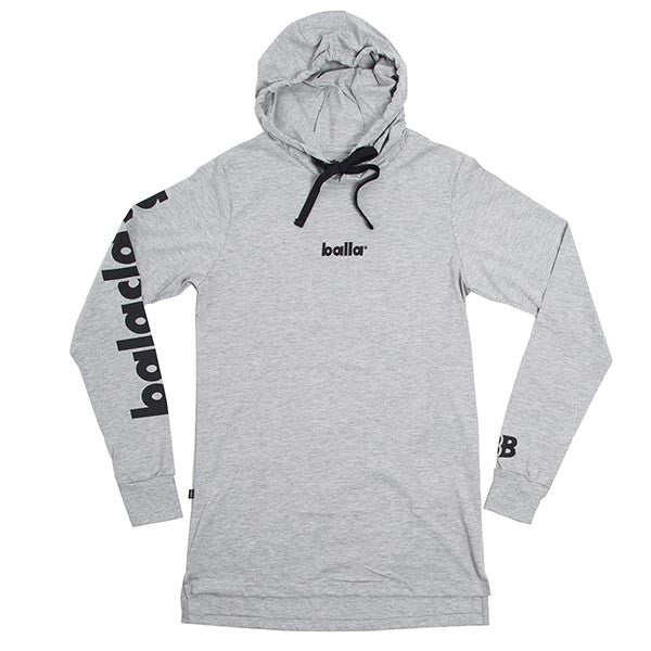 Balaclava Natives Long Grey Sleeve Hood