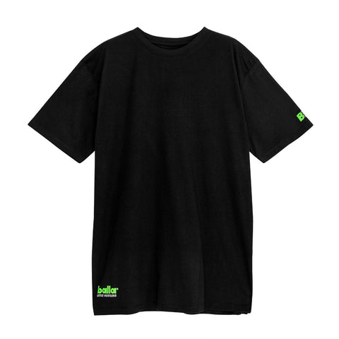 Little Hustlers - Green on Black Tee