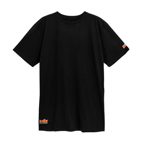 Little Hustlers - Orange on Black Tee