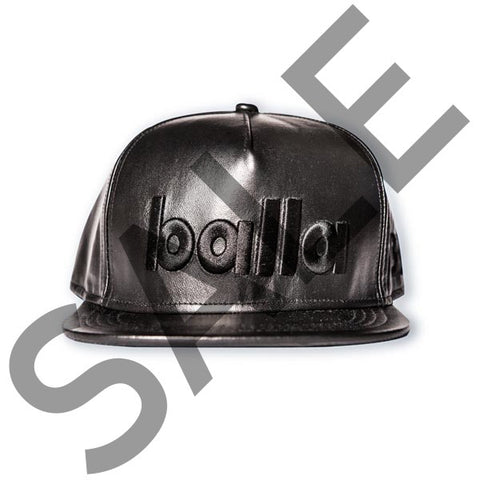Marauder Leather Snapback