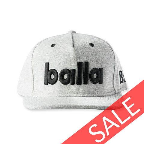 Grey Winter Snapback