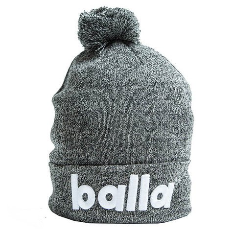 Speckled Grey Logo Beanie