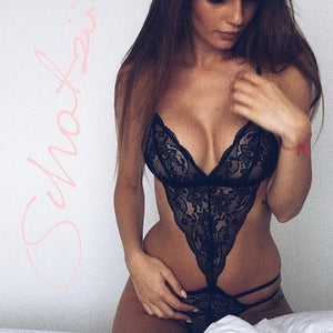 2019 New Sexy Women Bra Set Lace Deep V Erotic Underwear Lingerie Set Solid Color Bra Sets
