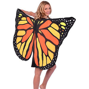 360 Degree Rotating Women Butterfly Wings Colorful Opening Split Wing Belly Dance Stage Performance Sexy Costume Accessories