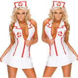 Drop Shipping Sexy Lingerie Roleplay Fancy Hot Bedroom Nurse Costume Nurse Outfit Dress& Hat Sexy Costumes Fashion Clothing