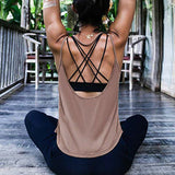 Women Open back Activewear