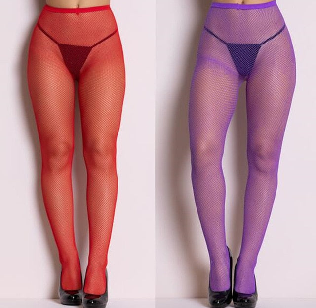 Shengrenmei New Stockings Women Fashion Pantyhose Ladies Mesh Plus Size Tights Hot Sexy Lingerie Tights 2019 Medias Dropshipping