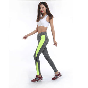 AOSHENG Women Pants Sports Running Sportswear Stretchy Fitness Leggings Seamless Tummy Control Gym Activewear Pants