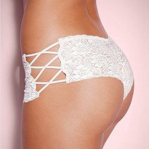 Women Summer Thin Lace Boyshorts Panties Underwear Women See Through Comfortable Women Female Intimates Boxers Sexy Underwear